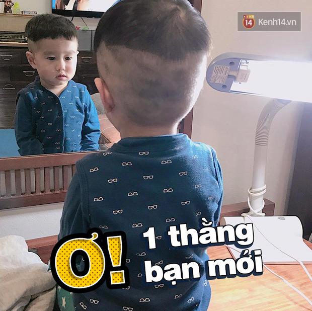 Nhật ký sắp 2 tuổi bằng meme đầy khí chất của Nguyễn Tùng Xoài - con trai Trang Lou và Tùng Sơn - Ảnh 11.