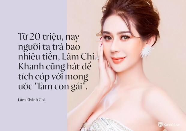 Lâm Khánh Chi: Từ cát-sê 20 triệu, nay người ta trả bao nhiêu tiền cũng hát để tích góp đi làm con gái - Ảnh 4.