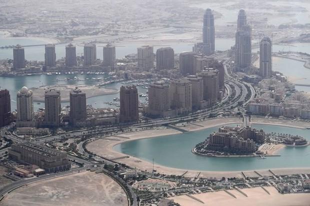 Hình ảnh đất nước Qatar hiện đại và đáng sống giữa sa mạc nóng bỏng - Ảnh 1.