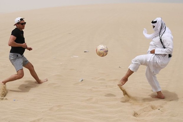 Hình ảnh đất nước Qatar hiện đại và đáng sống giữa sa mạc nóng bỏng - Ảnh 13.