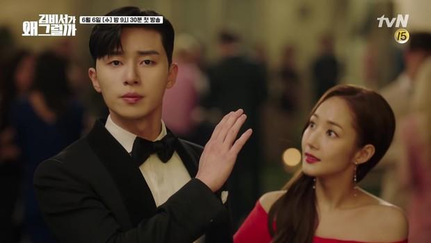 Thư Ký Kim: Park Seo Joon tự nhận mình tỏa hào quang, có tình tay ba với... anh ruột cực đẹp trai - Ảnh 3.