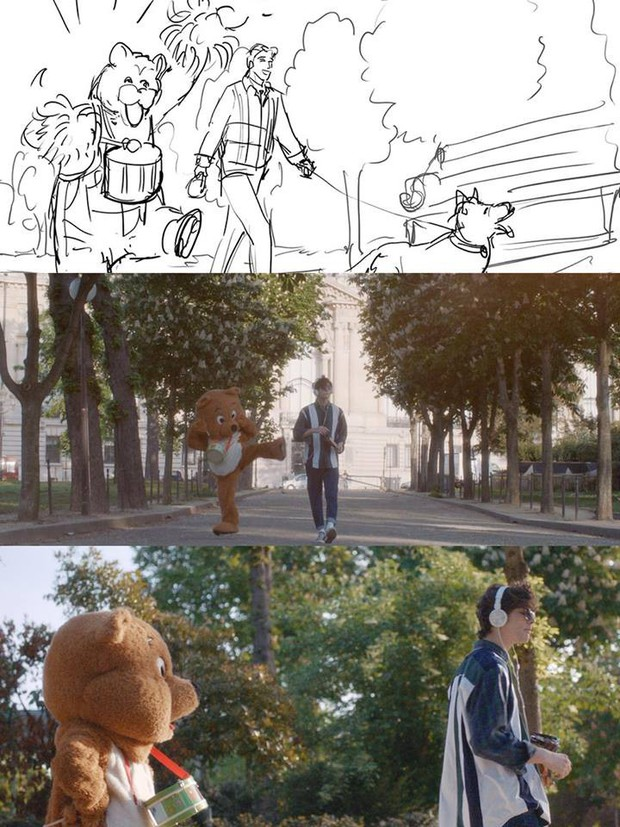 Mừng MV mới cán mốc triệu view sau chưa đầy 24 giờ ra mắt, Min tung bản phác hoạ hình ảnh đầu tiên tặng fan - Ảnh 7.