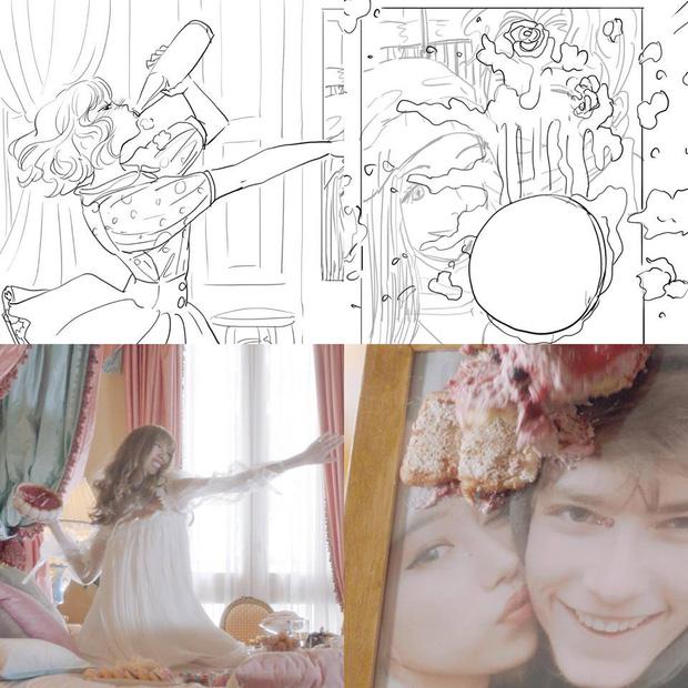 Mừng MV mới cán mốc triệu view sau chưa đầy 24 giờ ra mắt, Min tung bản phác hoạ hình ảnh đầu tiên tặng fan - Ảnh 10.