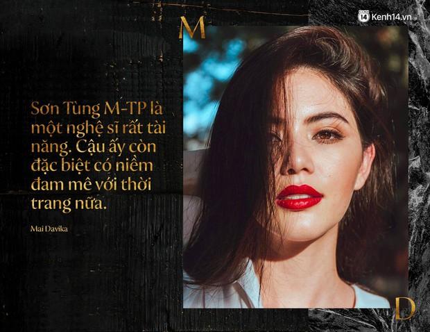Phỏng vấn độc quyền nàng thơ Mai Davika: Khen Sơn Tùng M-TP là một nghệ sĩ rất tài năng, lần đầu kể chuyện quay MV - Ảnh 3.