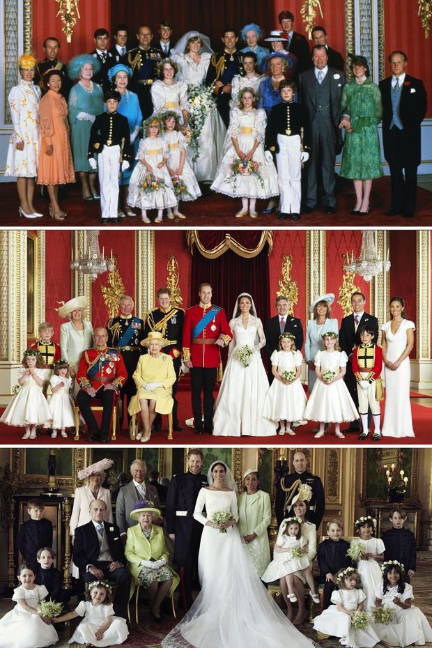 Đặt lên bàn cân 10 khoảnh khắc giữa ba đám cưới Hoàng gia: Công nương Diana vẫn được đánh giá là xinh đẹp nhất - Ảnh 11.