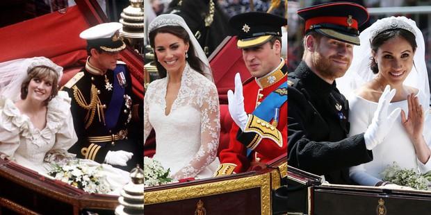 Đặt lên bàn cân 10 khoảnh khắc giữa ba đám cưới Hoàng gia: Công nương Diana vẫn được đánh giá là xinh đẹp nhất - Ảnh 6.