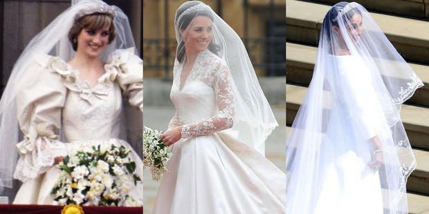 Đặt lên bàn cân 10 khoảnh khắc giữa ba đám cưới Hoàng gia: Công nương Diana vẫn được đánh giá là xinh đẹp nhất - Ảnh 10.