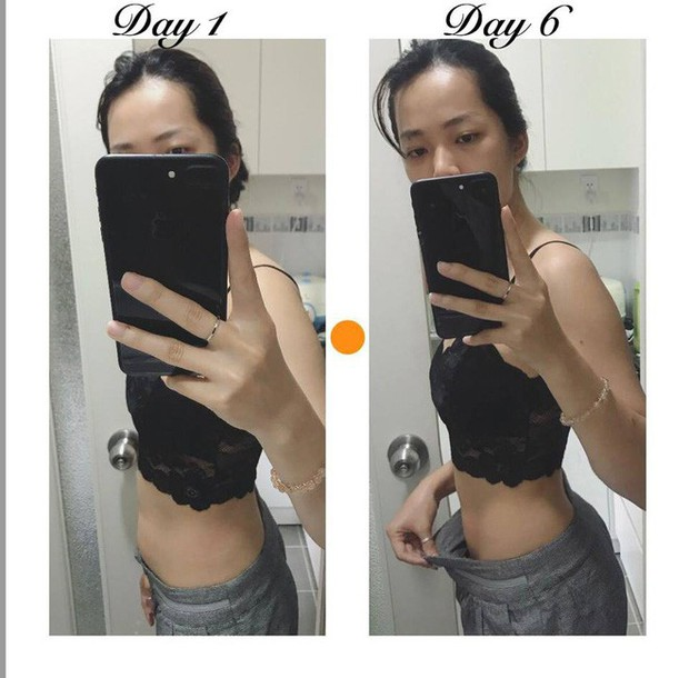 Khám phá thực đơn giảm cân giúp cô gái này giảm 2,5kg, vòng bụng giảm liền 5cm chỉ trong 6 ngày - Ảnh 1.