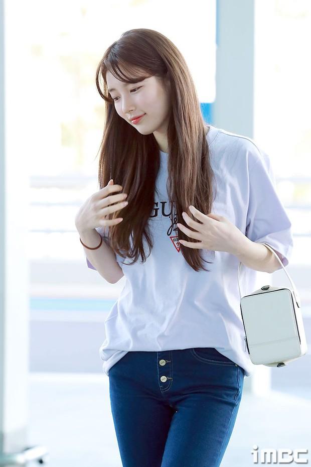 Suzy xinh đẹp lần đầu lộ diện sau lùm xùm kiện tụng - Ảnh 5.