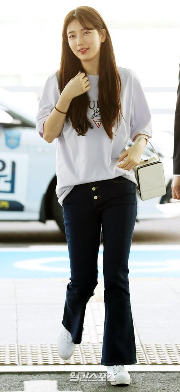 Suzy xinh đẹp lần đầu lộ diện sau lùm xùm kiện tụng - Ảnh 3.