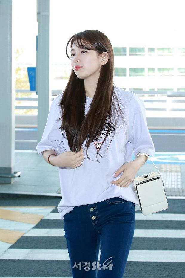 Suzy xinh đẹp lần đầu lộ diện sau lùm xùm kiện tụng  - Ảnh 4.