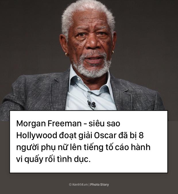 Morgan Freeman và bê bối tình dục làm vấy bẩn sự nghiệp  - Ảnh 1.