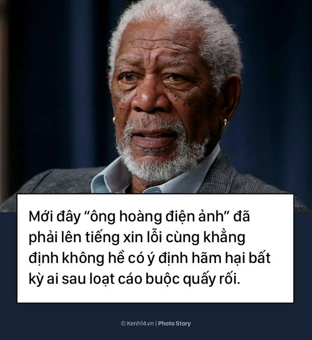 Morgan Freeman và bê bối tình dục làm vấy bẩn sự nghiệp  - Ảnh 3.