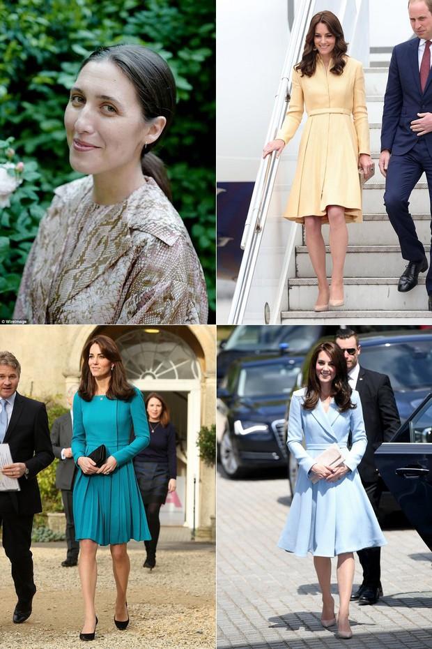 NTK yêu thích của Công nương Kate chê váy cưới của Meghan Markle bị rộng và trông giống một mẫu váy của tôi - Ảnh 3.