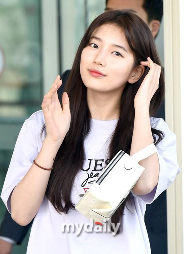 Suzy xinh đẹp lần đầu lộ diện sau lùm xùm kiện tụng - Ảnh 8.