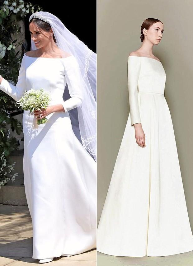 NTK yêu thích của Công nương Kate chê váy cưới của Meghan Markle bị rộng và trông giống một mẫu váy của tôi - Ảnh 2.