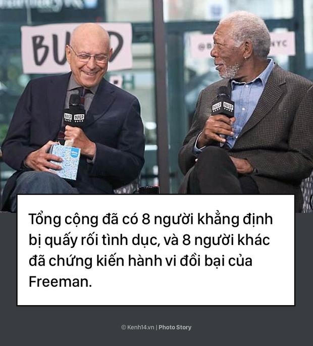 Morgan Freeman và bê bối tình dục làm vấy bẩn sự nghiệp  - Ảnh 7.