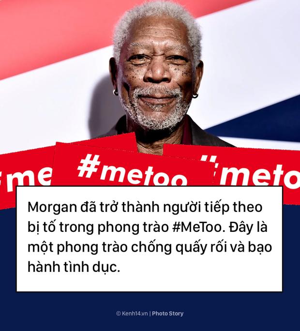 Morgan Freeman và bê bối tình dục làm vấy bẩn sự nghiệp  - Ảnh 11.