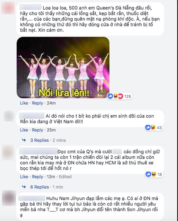 Lần đầu trong lịch sử sao Hàn đến Việt Nam bị fan đe dọa, phản đối: Chắc chỉ có rắn độc Hyoyoung là duy nhất! - Ảnh 5.