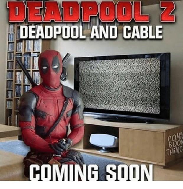 Loạt ảnh chế lầy lội dành cho fan cuồng Deadpool 2 - Ảnh 8.