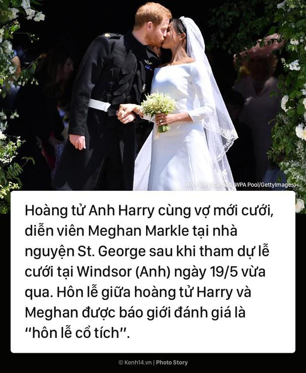 Đám cưới Hoàng gia và những bức ảnh ấn tượng của thế giới tuần qua - Ảnh 1.