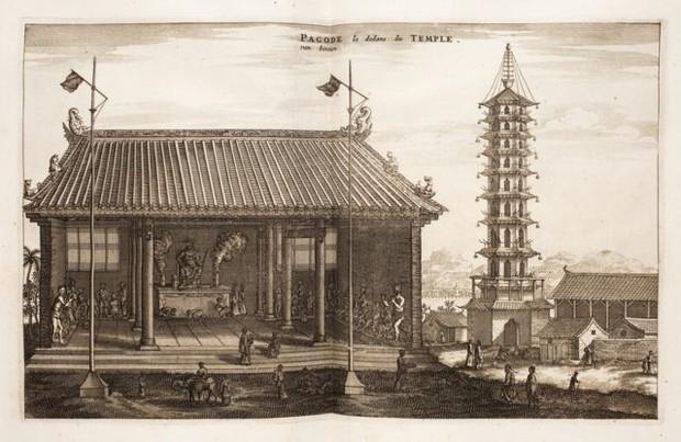 Bí ẩn tòa tháp Sứ ở Nam Kinh: Được mệnh danh là kỳ quan của Trung Quốc - Ảnh 2.