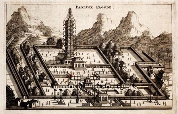 Bí ẩn tòa tháp Sứ ở Nam Kinh: Được mệnh danh là kỳ quan của Trung Quốc - Ảnh 4.