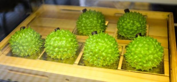 Xuất hiện thêm một món bánh sầu riêng ở Malaysia có độ hấp dẫn không thể tả - Ảnh 1.