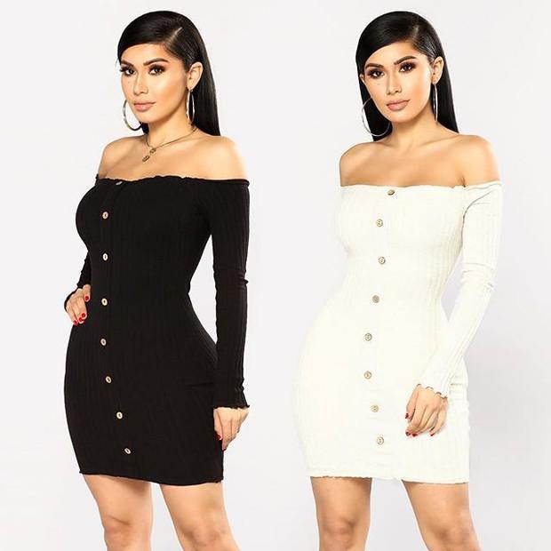 Nhờ hot mom Kylie Jenner lăng xê, bộ đầm ôm bình dân bỗng được dân tình ráo riết đặt mua - Ảnh 2.