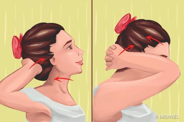 Dân văn phòng ngồi một chỗ làm việc nhiều học ngay bài tập giảm đau vai gáy cực hiệu quả - Ảnh 3.