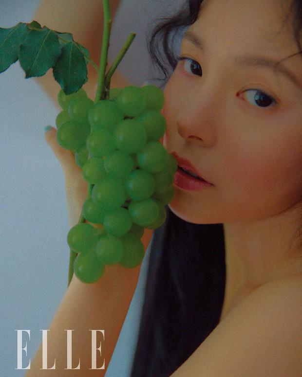 Hở bạo khoe lưng trần quyến rũ, Min Hyo Rin khiến dân tình phải thốt lên Đúng là nàng thơ của Taeyang - Ảnh 4.