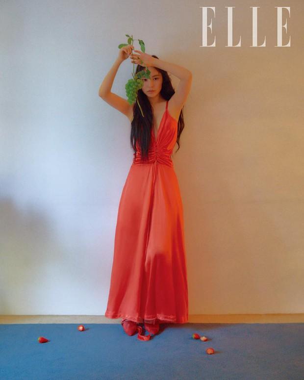 Hở bạo khoe lưng trần quyến rũ, Min Hyo Rin khiến dân tình phải thốt lên Đúng là nàng thơ của Taeyang - Ảnh 7.