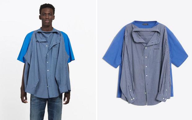 Balenciaga vừa ra chiếc áo sơ mi phông giá gần 30 triệu VNĐ và cư dân mạng được phen cười như được mùa - Ảnh 1.