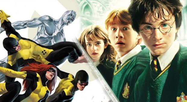 Hết Deadpool và Vệ Binh Dải Ngân Hà đòi làm phim chung, bố già Stan Lee cũng gạ đến vũ trụ Harry Potter - Ảnh 7.