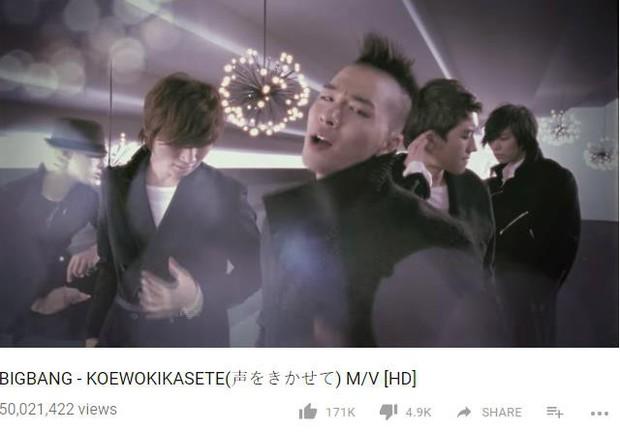 Big Bang trở thành boygroup Kpop đầu tiên có MV tiếng Nhật đạt view khủng - Ảnh 2.
