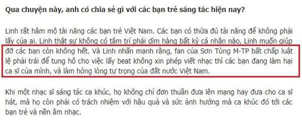 5 phát ngôn ồn ào trong âm nhạc của nhạc sĩ Dương Khắc Linh: 1 lần bất nhất quan điểm và 4 lần đá xéo người khác - Ảnh 4.