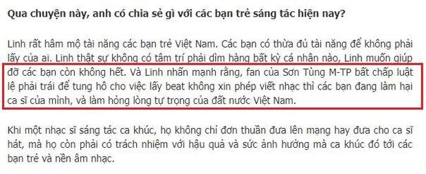 Từng gay gắt chuyện Sơn Tùng đạo nhạc, nhưng nay Dương Khắc Linh lại bất nhất quan điểm khi sáng tác của mình giống nhạc người khác? - Ảnh 4.