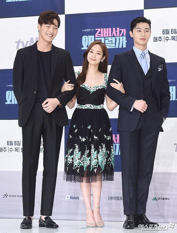 Chính thức trở lại, Park Min Young đẹp choáng ngợp và khoe vòng 1 siêu khủng bên tài tử Park Seo Joon - Ảnh 26.