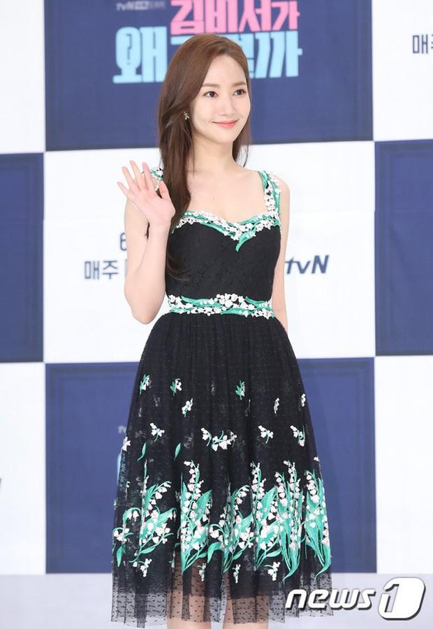 Chính thức trở lại, Park Min Young đẹp choáng ngợp và khoe vòng 1 siêu khủng bên tài tử Park Seo Joon - Ảnh 3.