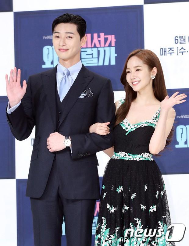 Chính thức trở lại, Park Min Young đẹp choáng ngợp và khoe vòng 1 siêu khủng bên tài tử Park Seo Joon - Ảnh 23.