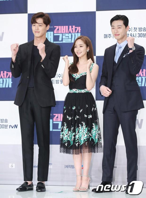 Chính thức trở lại, Park Min Young đẹp choáng ngợp và khoe vòng 1 siêu khủng bên tài tử Park Seo Joon - Ảnh 28.