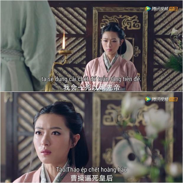 """""""Tam Quốc Cơ Mật"""": Vạn Thiến chấp nhận nhường ngôi hoàng hậu để bảo vệ Mã Thiên Vũ - Ảnh 9."""