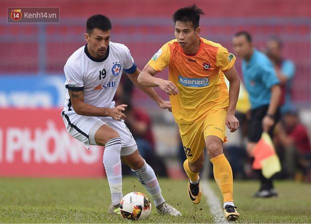 Đức Chinh phá lưới Đặng Văn Lâm, Đà Nẵng vẫn thua kịch tính trước Hải Phòng - Ảnh 4.