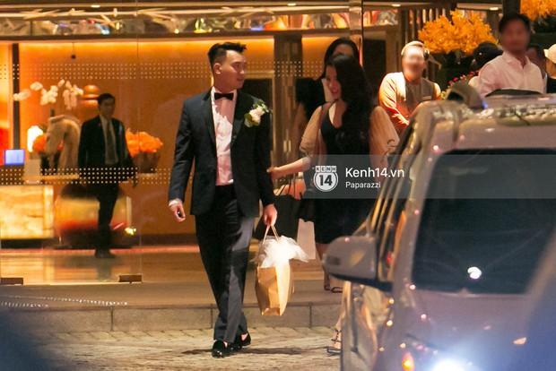 Sau đám cưới, Diệp Lâm Anh thay trang phục giản dị, lên xe 7 tỷ đồng về thẳng nhà chồng - Ảnh 1.
