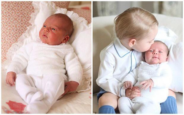Công nương Kate tiếp tục bị chỉ trích khi xài đồ cũ cho Hoàng tử Louis - Ảnh 1.
