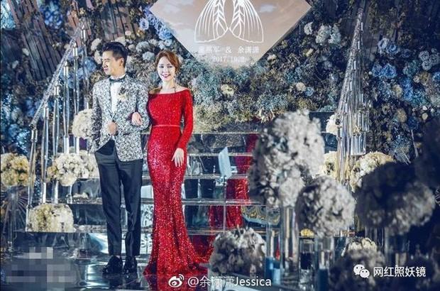 Những đám cưới cổ tích của dàn hot girl vạn người mê từng nổi đình nổi đám khắp Trung Quốc - Ảnh 11.