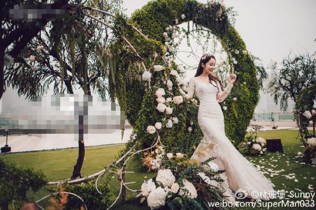 Những đám cưới cổ tích của dàn hot girl vạn người mê từng nổi đình nổi đám khắp Trung Quốc - Ảnh 19.