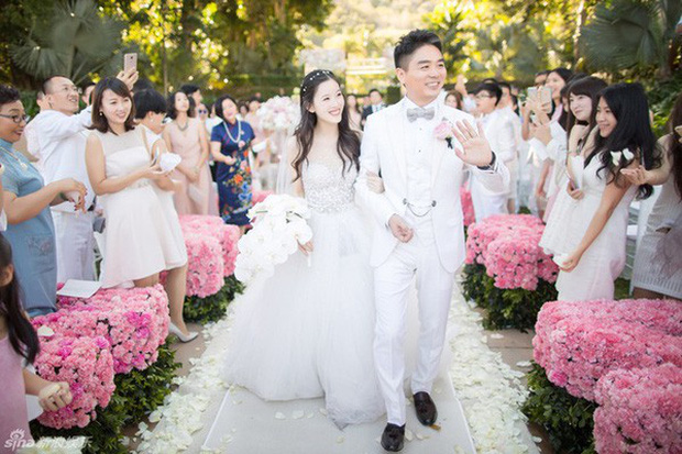 Những đám cưới cổ tích của dàn hot girl vạn người mê từng nổi đình nổi đám khắp Trung Quốc - Ảnh 24.