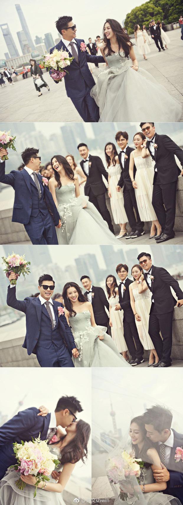 Những đám cưới cổ tích của dàn hot girl vạn người mê từng nổi đình nổi đám khắp Trung Quốc - Ảnh 4.