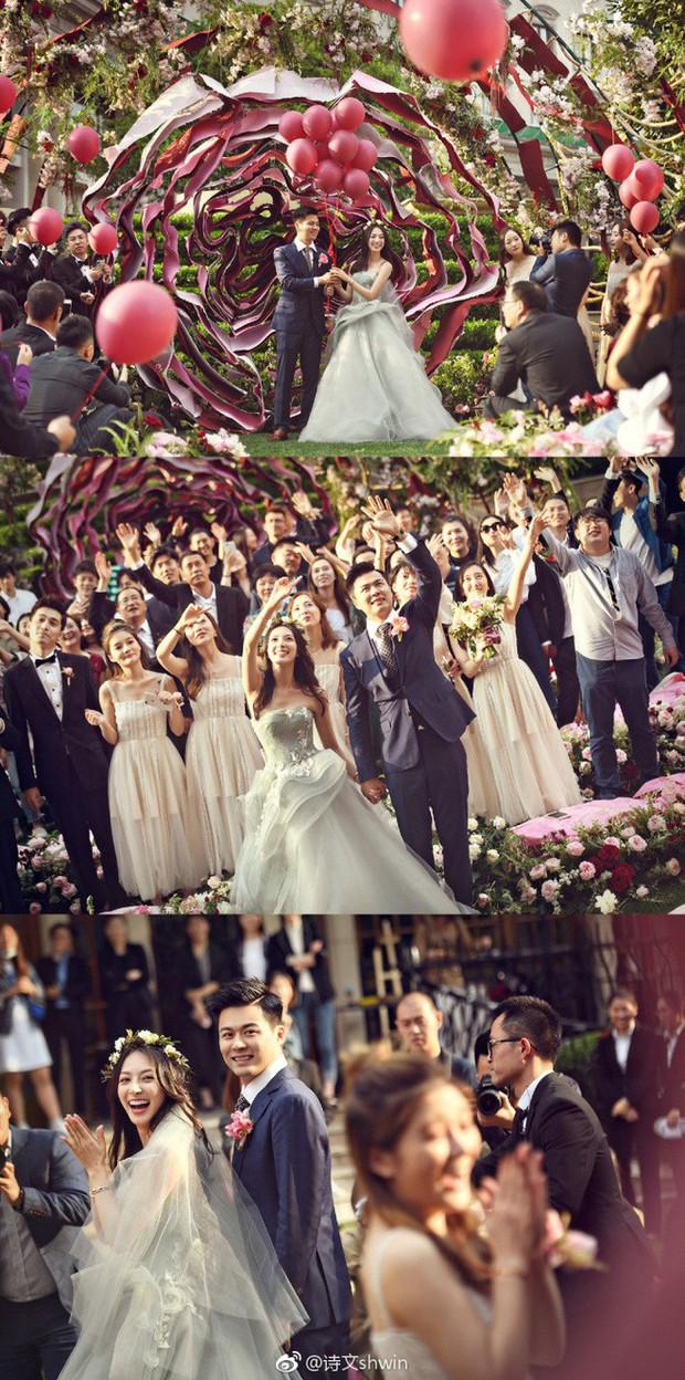 Những đám cưới cổ tích của dàn hot girl vạn người mê từng nổi đình nổi đám khắp Trung Quốc - Ảnh 5.